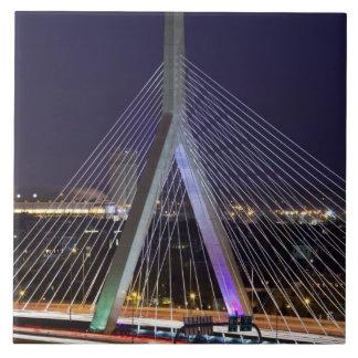 米国、マサチューセッツ、ボストン。 レオナルドZakim タイル
