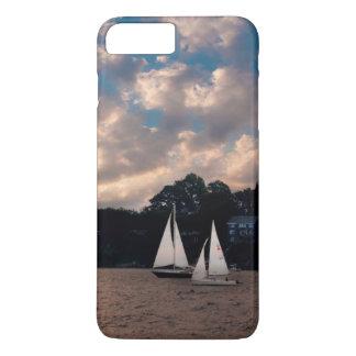 米国、マサチューセッツ。 日没の航行 iPhone 8 PLUS/7 PLUSケース