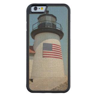 米国、マサチューセッツ、Nantucket。 ブラントポイント CarvedメープルiPhone 6バンパーケース