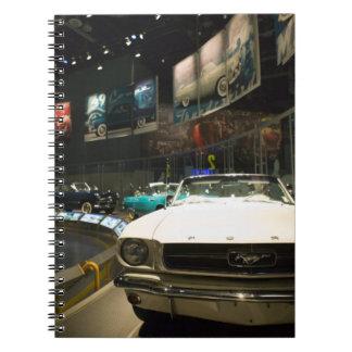 米国、ミシガン州、デトロイト: フォードの弁柄の工場旅行、 ノートブック