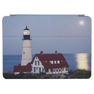 米国、メイン、ポートランドの岬エリザベスの灯台 iPad AIR カバー
