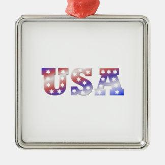 米国 メタルオーナメント