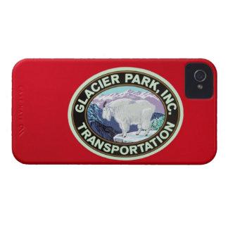 米国、モンタナのグレーシャー国立公園、ヴィンテージ2 iPhone 4 Case-Mate ケース