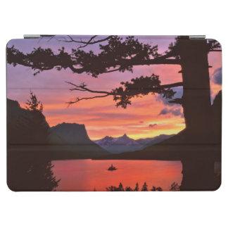 米国、モンタナのグレーシャー国立公園。 景色 iPad AIR カバー