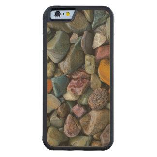 米国、モンタナのグレーシャー国立公園、石 CarvedメープルiPhone 6バンパーケース