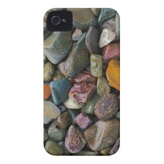 米国、モンタナのグレーシャー国立公園、石 iPhone 4 カバー
