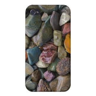米国、モンタナのグレーシャー国立公園、石 iPhone 4/4S ケース