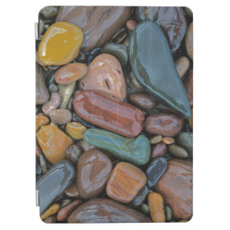 米国、モンタナ、Clark Fork川の石 iPad Air カバー