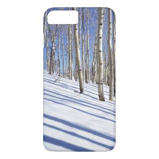 米国、ユタのDixieの国有林、《植物》アスペン果樹園 iPhone 8 Plus/7 Plusケース