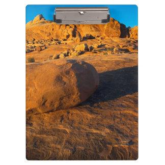 米国、ユタ、モアブの砂岩 クリップボード