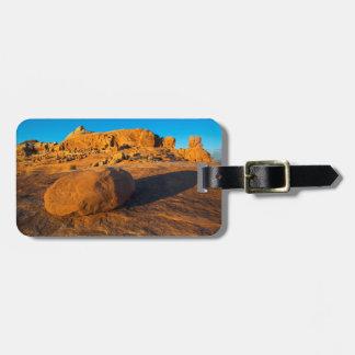 米国、ユタ、モアブの砂岩 ラゲッジタグ