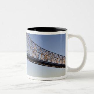 米国、ルイジアナ、ニュー・オーリンズ。 より素晴らしく新しい2 ツートーンマグカップ
