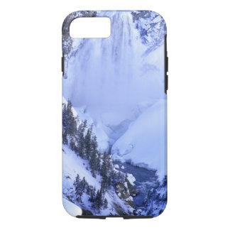 米国、ワイオミングのイエローストーン国立公園。 冬 iPhone 8/7ケース