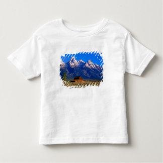 米国、ワイオミングのTetonの壮大な国立公園、朝 トドラーTシャツ