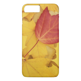 米国、ワシントン州のフィンチの植物園、赤 iPhone 8 PLUS/7 PLUSケース