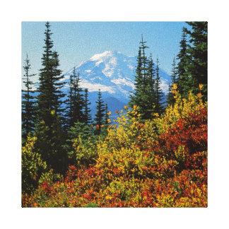 米国、ワシントン州のレーニア山国立公園2 キャンバスプリント