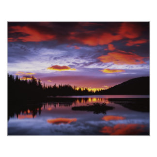 米国、ワシントン州のレーニア山国立公園、 ポスター