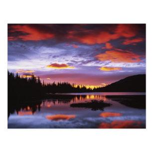 米国、ワシントン州のレーニア山国立公園、 ポストカード