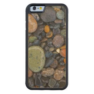 米国、ワシントン州のローペッツの島、瑪瑙のビーチ CarvedメープルiPhone 6バンパーケース