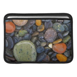 米国、ワシントン州のローペッツの島、瑪瑙のビーチ MacBook スリーブ
