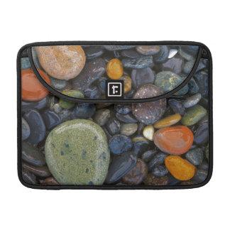 米国、ワシントン州のローペッツの島、瑪瑙のビーチ MacBook PROスリーブ