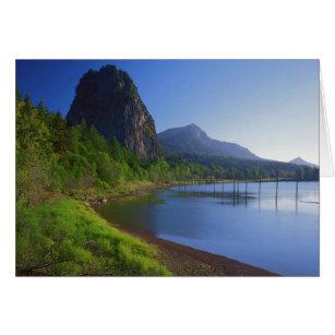 米国、ワシントン州の標識の石の州立公園、標識 カード