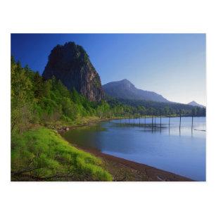 米国、ワシントン州の標識の石の州立公園、標識 ポストカード