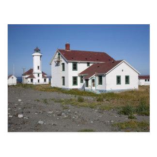 米国、ワシントン州の港Townsendのポイントウイルソン ポストカード
