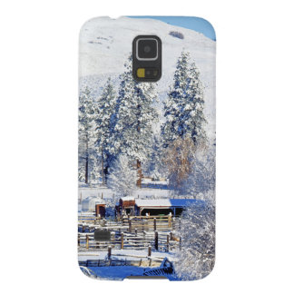 米国、ワシントン州のMethowの谷、納屋 Galaxy S5 ケース