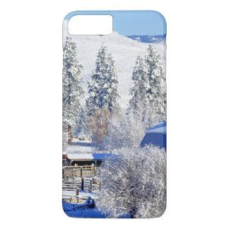 米国、ワシントン州のMethowの谷、納屋 iPhone 8 Plus/7 Plusケース