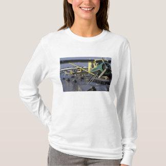 米国、ワシントン州、シアトルの水上飛行機はつなぎました Tシャツ
