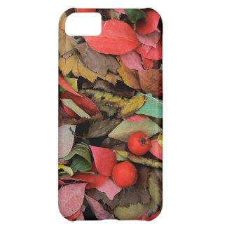 米国、ワシントン州、スポケーンCo.、ホーソーンの葉 iPhone5Cケース