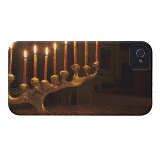 米国、ワシントン州、Bellevue。 すべての(ユダヤ教)メノラー Case-Mate iPhone 4 ケース