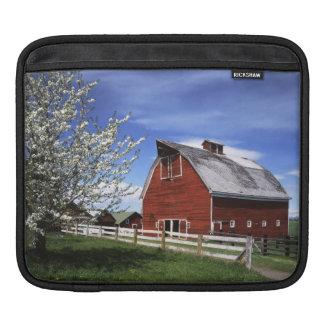 米国、ワシントン州、Ellensburgの納屋 iPadスリーブ
