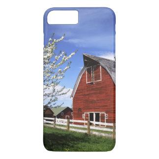 米国、ワシントン州、Ellensburgの納屋 iPhone 8 Plus/7 Plusケース