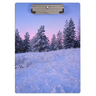 米国、ワシントン州、Spokane郡のBrowne山 クリップボード