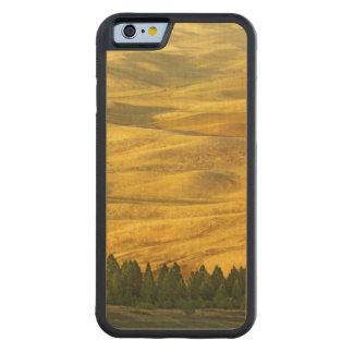 米国、ワシントン州、Whitman郡、Palouseのムギ CarvedメープルiPhone 6バンパーケース