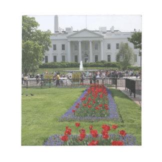 米国、ワシントンD.C.。 北側面 ノートパッド