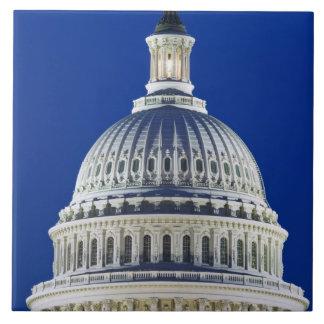 米国、ワシントンD.C.、国会議事堂のD.C. Close-up タイル