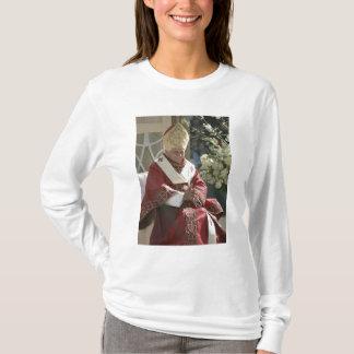 米国、ワシントンD.C.、法皇ベネディクトD.C. Tシャツ