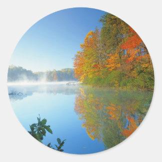 米国、ヴァージニアの妖精の石造りの州立公園2 ラウンドシール