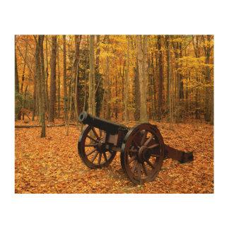 米国、ヴァージニアの植民地国民の歴史的 ウッドウォールアート