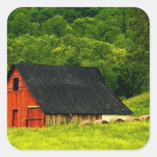 米国、ヴァージニアのShenandoahの国立公園、2 スクエアシール