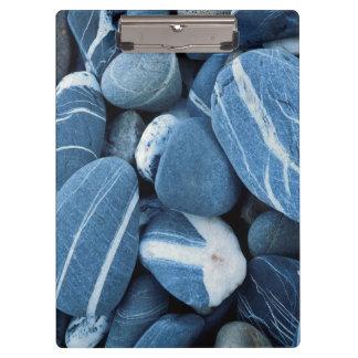 米国、ヴァーモントの湖Champlainの石 クリップボード