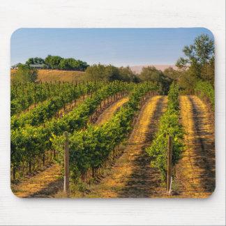 米国、東のワシントン州のWalla Wallaのブドウ園 マウスパッド