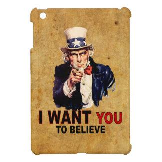 米国-私は信じてほしいです iPad MINI カバー
