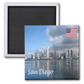 米国-米国-サンディエゴ マグネット