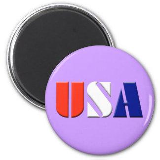 米国- (薄紫) マグネット