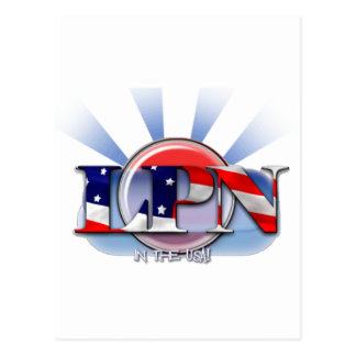 米国(認可された実用的なナース)のLPN ポストカード