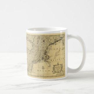 米国(1783年)の地図 コーヒーマグカップ